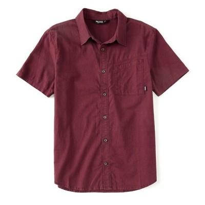 アウトドアリサーチ メンズ シャツ トップス Weisse Performance Short-Sleeve Organic Materials Woven Shirt