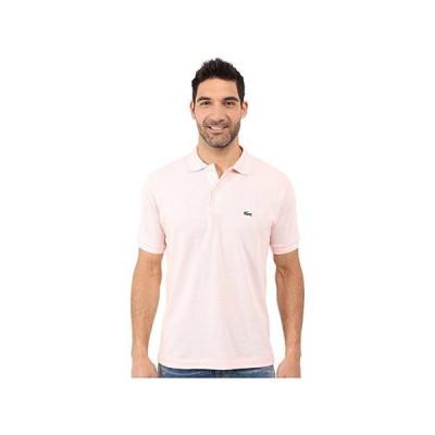 ラコステ L1212 Classic Pique Polo Shirt メンズ シャツ トップス Flamingo