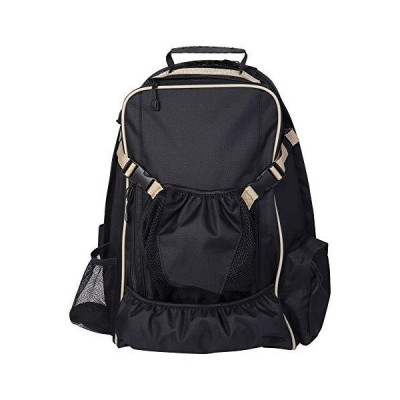 Huntley Equestrian Equestrian Backpack, Black, One Size【並行輸入品】