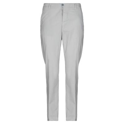 TRANSIT パンツ ライトグレー L コットン 90% / 麻 10% パンツ