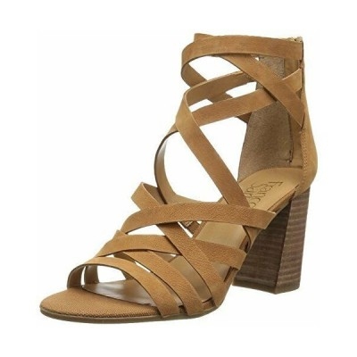 ハイヒール インポートブランド レディース Franco Sarto Women's Madrid Heeled Sandal, Biscuit, 8 Medium US
