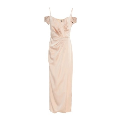 ISABEL GARCIA ロングワンピース&ドレス サンド XXS ポリエステル 100% ロングワンピース&ドレス
