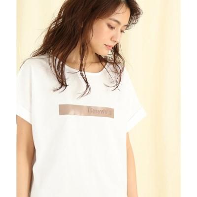 【スコットクラブ】Bouchon(ブション) 【手洗い可】フロントラインロゴTシャツ