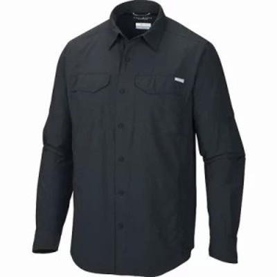 コロンビア シャツ Columbia Silver Ridge Lite Long Sleeve Shirt Black