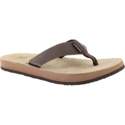 ナオト Naot メンズ ビーチサンダル シューズ・靴 Island Flip Flop Brown Polypropylene