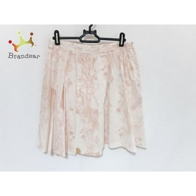 レッドバレンチノ スカート サイズ42 L レディース 美品 - ライトピンク×ピンク×イエロー 新着 20201017