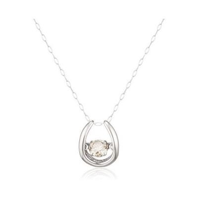 [ディーコレクション] D-COLLECTION プラチナ ダイヤモンドネックレス 0.3ct(ダンシングストーン)