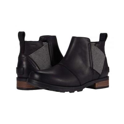 SOREL ソレル レディース 女性用 シューズ 靴 ブーツ チェルシーブーツ アンクル Emelie Chelsea - Black 1