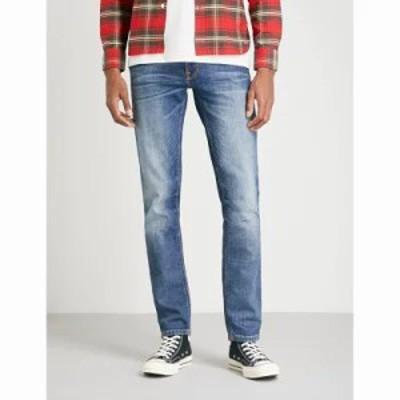 ヌーディージーンズ ジーンズ・デニム lean dean slim-fit tapered jeans Lost legend