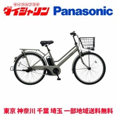 配送も店頭受取も可 電動自転車 パナソニック 電動アシスト自転車 2020年 ティモ S 26インチ BE-ELST635 マットオリーブ G2 GC4 1054 一