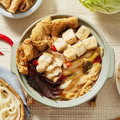 嘉義林聰明 沙鍋菜湯底獨享包(1000g/包,2包)