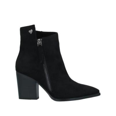 TUA BY BRACCIALINI ショートブーツ ファッション  レディースファッション  レディースシューズ  ブーツ  その他ブーツ ブラック