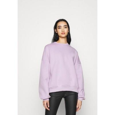 ニリーバイネリー パーカー・スウェットシャツ レディース アウター Sweatshirt - light purple