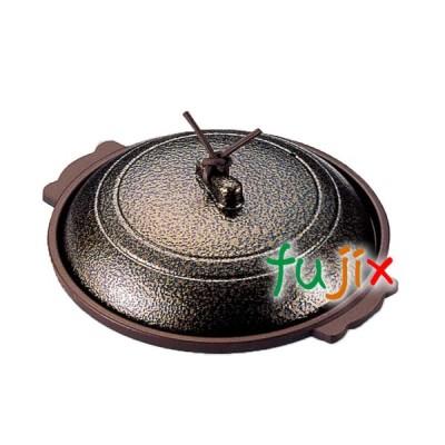 丸陶板 φ18 いぶし金 1個 M10-389 アルミ合金製 フッ素3コート