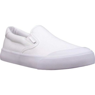 ラグズ スニーカー シューズ レディース Clipper Protege Slip On Sneaker (Women's) White Canvas