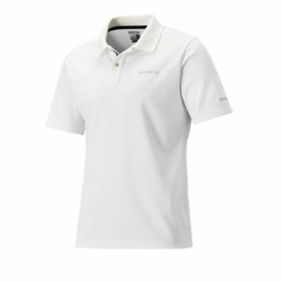 シマノ(Shimano) SH-074R ポロシャツ(半袖) XS ホワイト / 半袖 ポロシャツ 吸水速乾 UVカット 【在庫限り特価】 【釣具 釣り具】