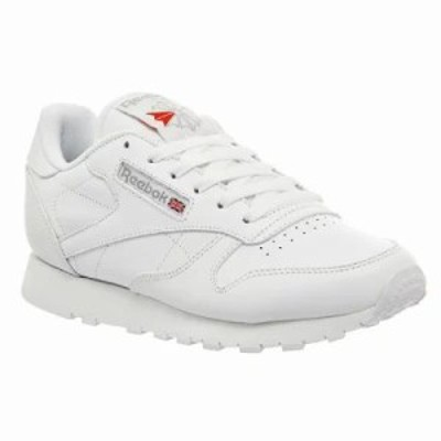 リーボック スニーカー Classic Leather Trainers white