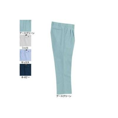 バートル 7037 ツータックパンツ 70〜88 かっこいい 作業服 作業着 春夏