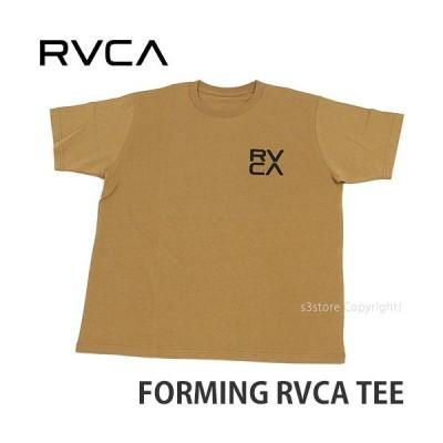 ルーカ フォーミング ティー RVCA FORMING TEE Tシャツ トップス 半袖 アパレル ロゴ プリント スケートボード サーフ カラー:DND