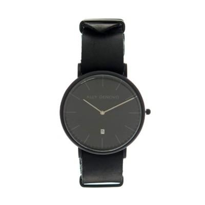 アリーデノヴォ 腕時計 メンズ&レディース HERITAGE ALLY DENOVO ブラック