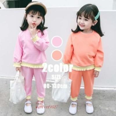 韓国子供服 ジュニア 90 100 女の子 ジャージ ヒップホップ 子供セット 80 120 カジュアル スポーツウェア 110 上下セット セットアップ