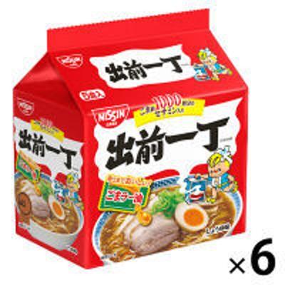 日清食品日清食品 出前一丁 1パック(5食入)×6