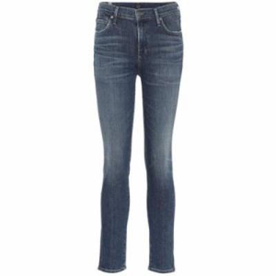 シチズン ジーンズ・デニム Rocket high-rise skinny jeans Rival