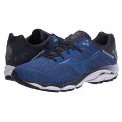 Mizuno ミズノ メンズ 男性用 シューズ 靴 スニーカー 運動靴 Wave Inspire 16 True Blue【送料無料】