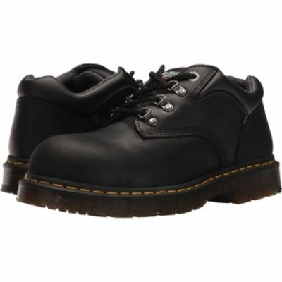 ドクターマーチン Dr. Martens Work レディース ローファー・オックスフォード シューズ・靴 Hylow Steel Toe Black