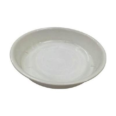 アイリスオーヤマ 鉢受皿中深型 ホワイト 9号/HUMD9W