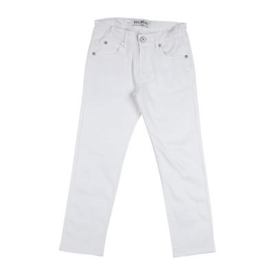 ビッケンバーグ BIKKEMBERGS パンツ ホワイト 6 コットン 98% / ポリウレタン 2% パンツ