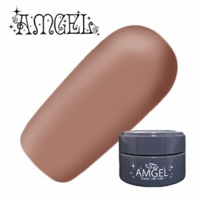 ジェルネイル セルフ カラージェル アンジェル AMGEL カラージェル AG1007 ソーキベージュ 3g