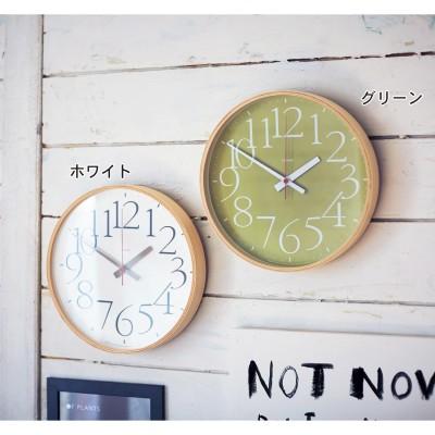 文字が見やすい電波時計(レムノス)