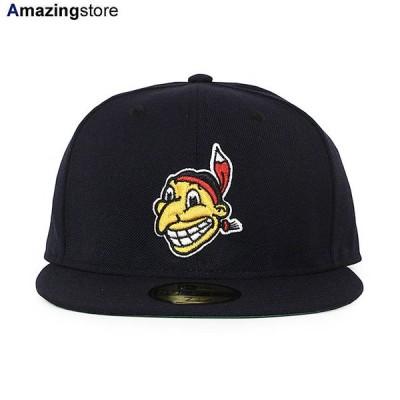 ニューエラ 59FIFTY クリーブランド インディアンス 【MLB 1947-50 COOPERSTOWN GAME FITTED CAP/NAVY】 NEW ERA CLEVELAND INDIANS
