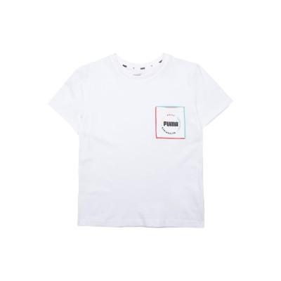プーマ PUMA T シャツ ホワイト 10 コットン 100% T シャツ