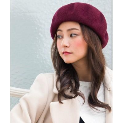 QUEENHEAD / ゆったりリブベレー帽 WOMEN 帽子 > ハンチング/ベレー帽