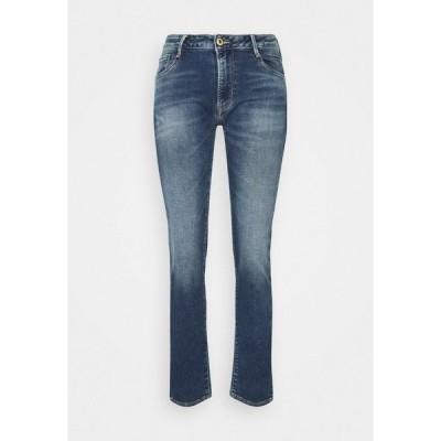 ル タン デ  スリーズ デニムパンツ レディース ボトムス Relaxed fit jeans - blue