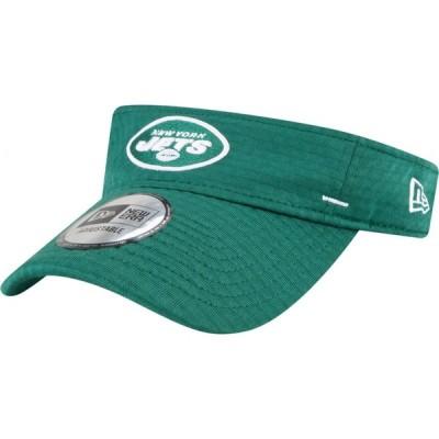 ニューエラ New Era メンズ サンバイザー 帽子 New York Jets Green Summer Sideline Visor