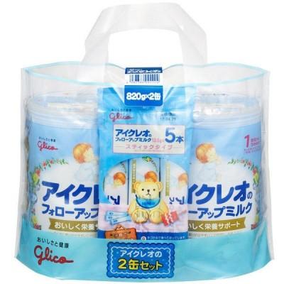 【1歳頃から】アイクレオのフォローアップミルク 820g×2缶セット (おまけ付き) アイクレオ 粉ミルク