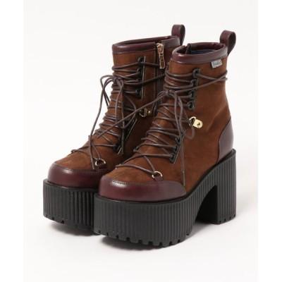 YOSUKE / 「YOSUKE/ヨースケ」厚底レースアップショートブーツ WOMEN シューズ > ブーツ