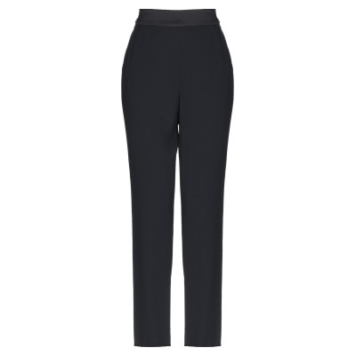 MARELLA パンツ ブラック 48 ポリエステル 100% パンツ