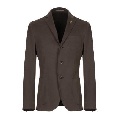 パオローニ PAOLONI テーラードジャケット ミリタリーグリーン 48 コットン 98% / ポリウレタン 2% テーラードジャケット