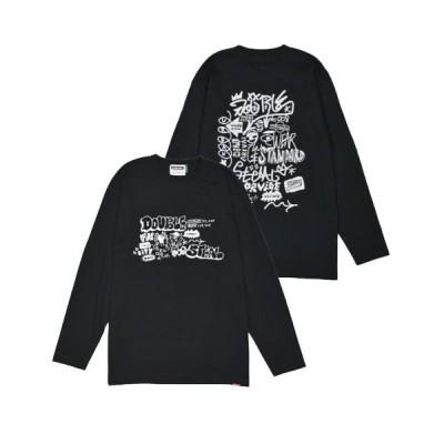 tシャツ Tシャツ ART GRAFFITI  長袖Tシャツ