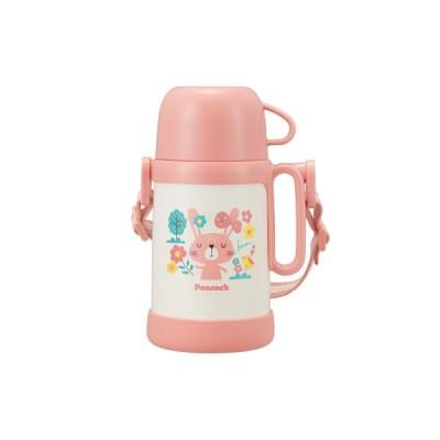 水筒 子供 水筒 コップ ステンレスボトル 450ml ピーコック コップ式ボトル ASK-50PBL