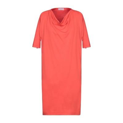 グラン サッソ GRAN SASSO ミニワンピース&ドレス 赤茶色 42 コットン 94% / ナイロン 6% ミニワンピース&ドレス