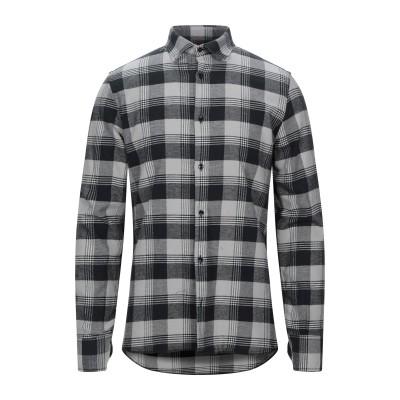 DIFFERENCE® シャツ ブラック M コットン 100% シャツ