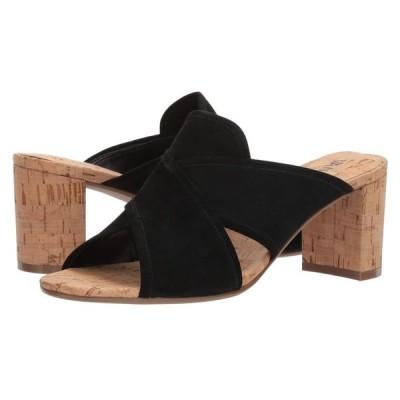 ヴァネリ Vaneli レディース サンダル・ミュール シューズ・靴 Merana Black Suede
