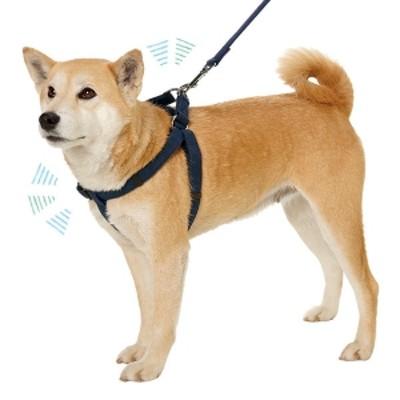 PEPPY(ペピイ) 抗菌消臭スイングハーネス ピンク・約・バスト47-70×幅2.0cm ハーネス 犬用