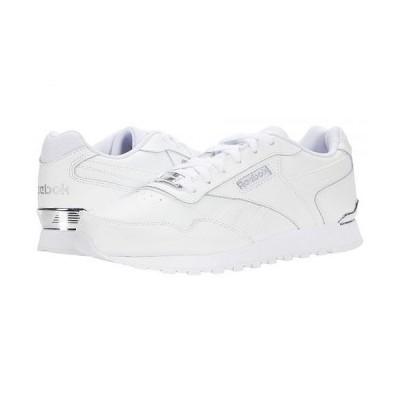 Reebok リーボック レディース 女性用 シューズ 靴 スニーカー 運動靴 Classic Harman Run Clip - White/Silver Metallic