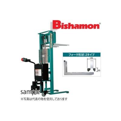 ビシャモン(スギヤス) バッテリー昇降・走行式トラバーリフト ST98A 最大積載能力:980kg [送料別途お見積り]